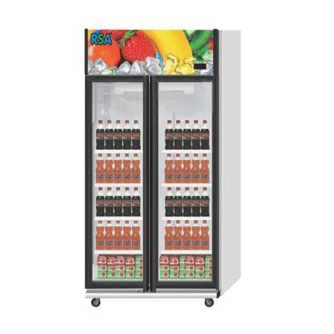 Gea Kulkas Showcase Freezer gea rsa showcase cooler 2 pintu jade elevenia