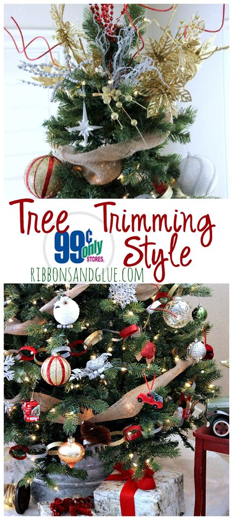 trimming the christmas tree 99 cents only style
