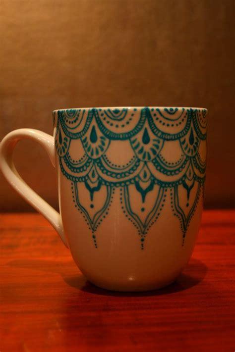 diy mugs becoration