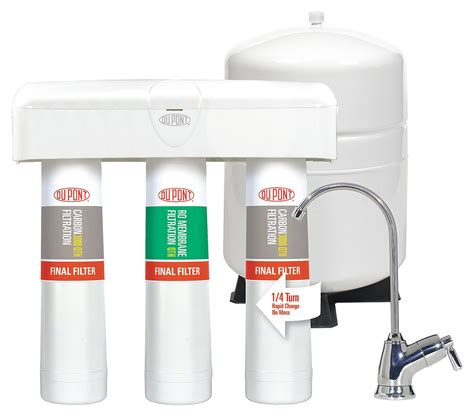 Dupont Plumbing Supplies by Dupont 3 Stage Osmosis Filter Includes System