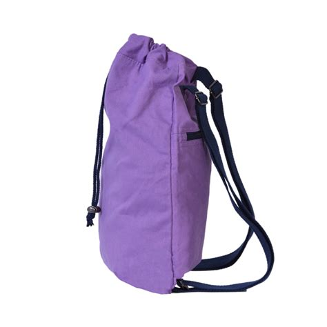 Drawstring Canvas Backpack soft cotton canvas drawstring backpack book bags