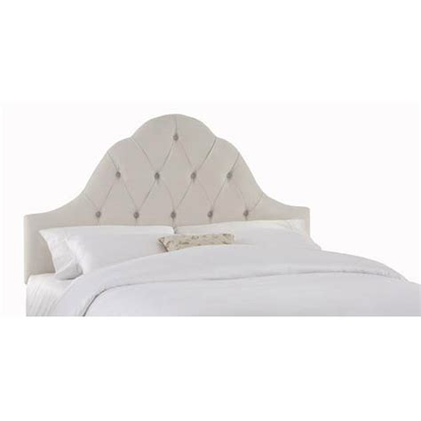 white tufted headboard twin velvet white twin arch tufted headboard skyline furniture