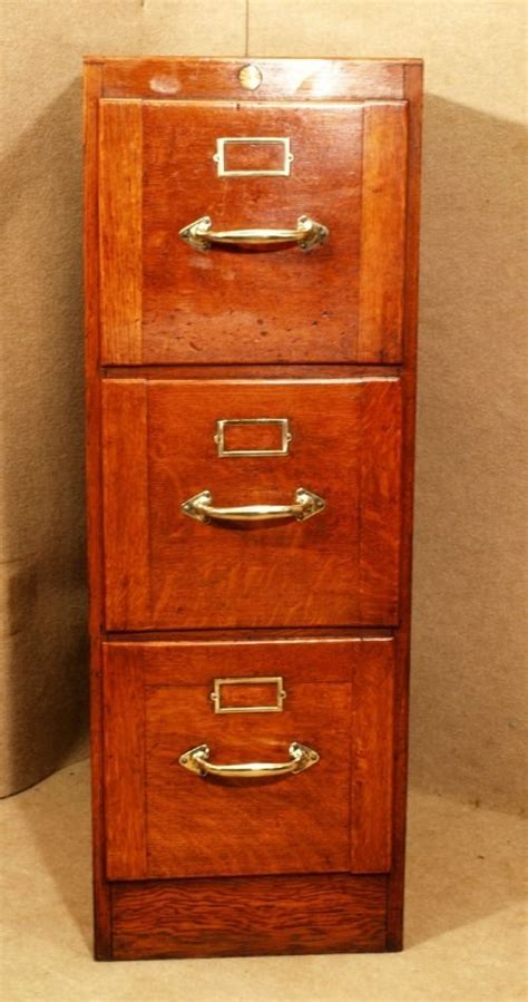 Antique Filing Cabinet Antique Oak 3 Drawer Filing Cabinet 101718 Sellingantiques Co Uk