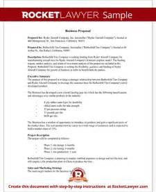 business proposals templates business template free business sle