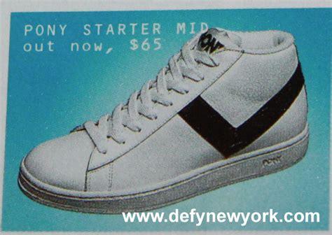 starter basketball shoes pony starter mid basketball shoe 2002 defy new york