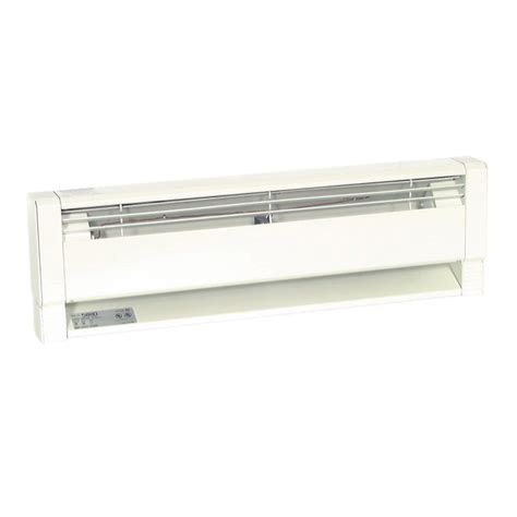 baseboard heater with fan shop fahrenheat 34 in 240 volt 750 watt hydronic electric