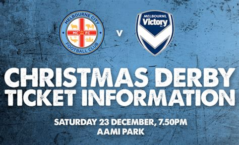 christmas derby ticket information melbourne city