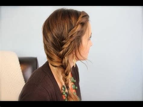cute hairstyles in youtube subtle twist side braid cute girls hairstyles youtube