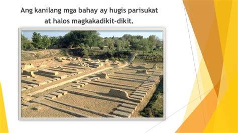 Grid Pattern Indus Tagalog | kabihasnang indus