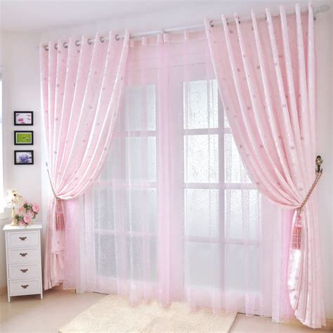 pink bedroom curtains get cheap pale pink curtains aliexpress