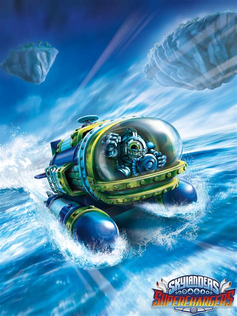 Kaos Just Be Unstoppable skylanders superchargers official site