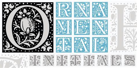 decorative initials font ornament fonts urban fonts