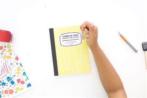 decorar cuadernos diy decorar cuadernos escolares con plantillas para imprimir