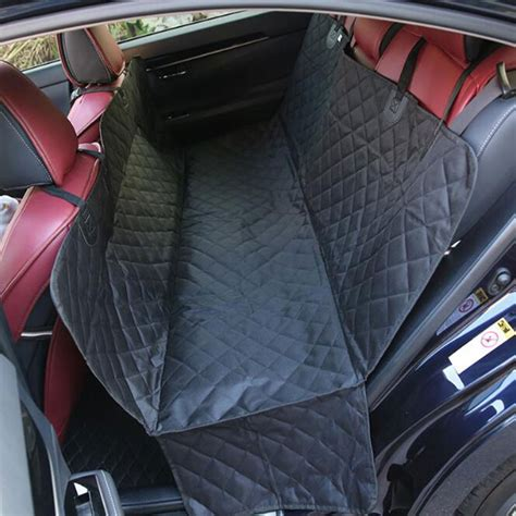 rear hammock car seat cover washable pet hammock rear back seat car cover protector