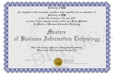 Information Of Mba Degree by Masters Of Business Information Technology