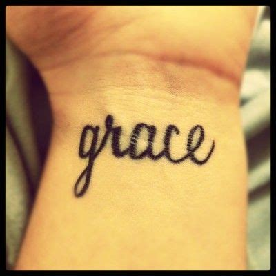 tattoo meaning grace grace tattoo gorgeousss tattoo ideas for a special