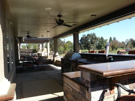patio cover lights solid roof patio cover landscapes by