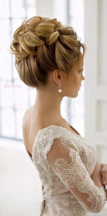 Hairstyles For Wedding by 15 Beautiful Wedding Updo Hairstyles Styles Weekly