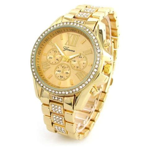 new geneva 3d hours bezel large boyfriend