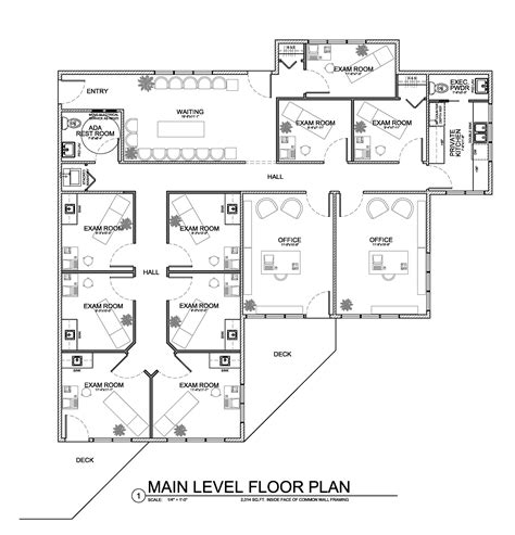 medical office floor plan sles architectural floor plans office building homedesignpictures