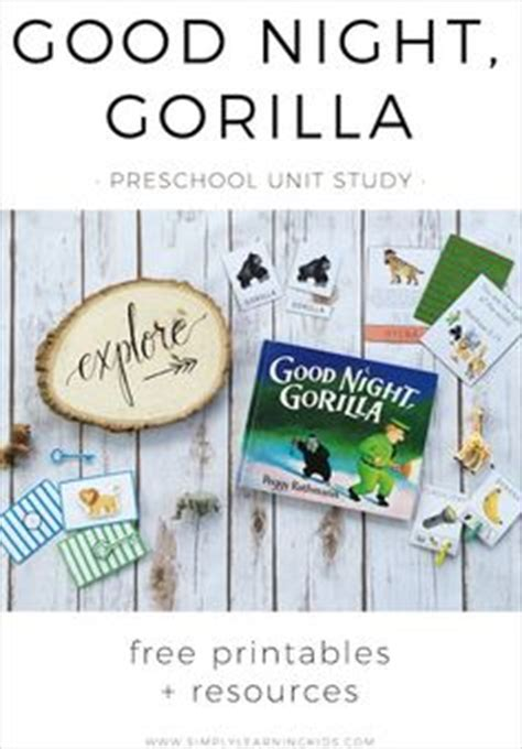libro good night gorilla 1000 ideas about gorilla craft on zoo crafts preschool letter g and letter g crafts