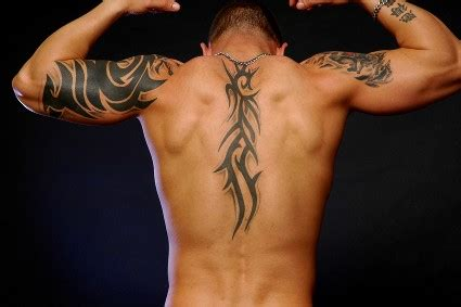tattoo back man tribal back tribal tattoos for men