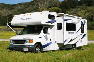Van Nuys Awning Vacation Rv Rentals Class C 28 Foot Rv Rental With Slide Out