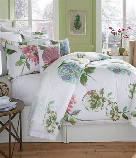 southern living bedding southern living in bloom collection flora watercolor