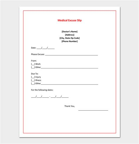 what is a doctors note doctors note template 7 fillable notes for word pdf