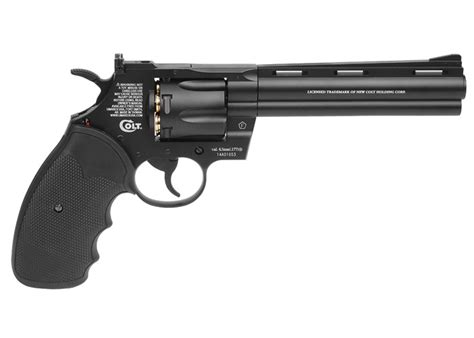 Revolfer Pyton colt python bb revolver airgun depot