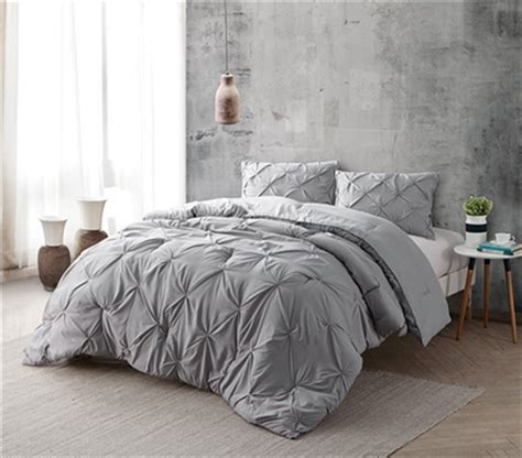 Modal Duvet Alloy Pin Tuck Twin Xl Comforter