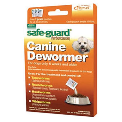 safeguard for dogs safe guard wormer de wormer tapeworms panacur 10 fenbendazole 3 pack ebay