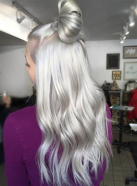 fashionsfield blog archive gorgeous silvery grey hair