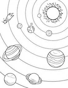 solar system coloring pages printable solar system coloring page free pdf at
