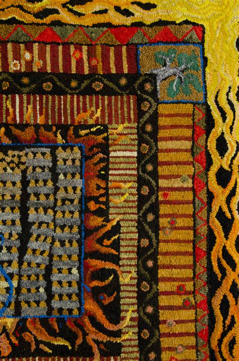 Rug Hooking Maine by Maine Fiberarts Town And Country Hooked Rugs
