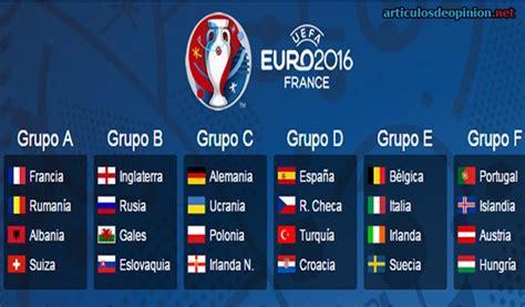 Resultados Y Calendario Eurocopa 2016 Calendario Resultados Res 250 Menes