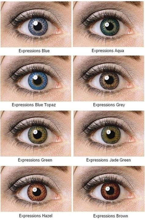 contacts colors expressions cosmetic contact lenses coopervision