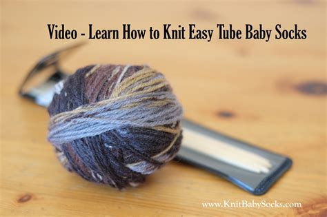 how to knit simple socks baby socks knitting images