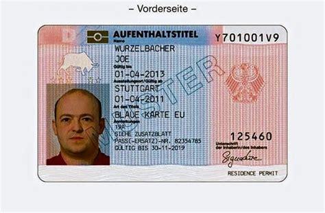 carta soggiorno ce illimitata arbeitsmigranten blaue karte sticht noch nicht