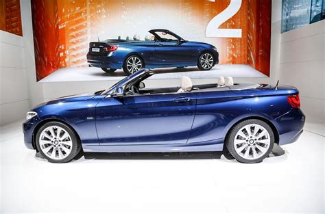bmw 2 series starting price bmw 2 series convertible breaks cover at motor show