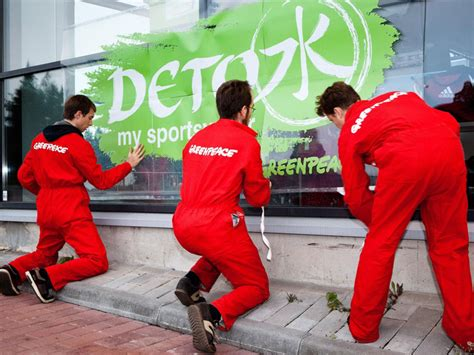Greenpeace Clothing Detox by Greenpeace Detox Caign Ecouterre