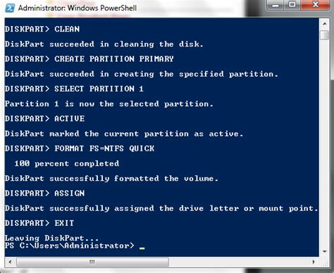 format hard disk using pendrive windows administrator create bootable usb pendrive