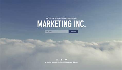 Landing Pages Website Templates Wix Wix Landing Page Templates