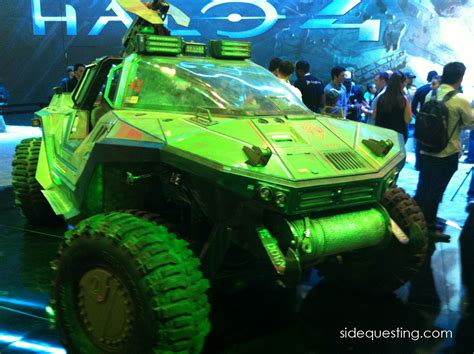 halo 4 warthog e312 the halo 4 warthog up close and personal sidequesting