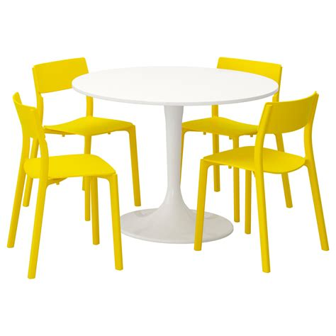 docksta table dining table sets dining room sets ikea