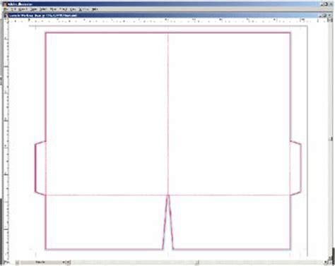 presentation folder layout template presentation folder design and layout templates instructions