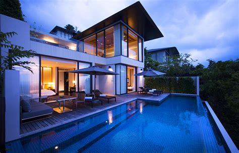2 bedroom pool villa conrad koh samui hungry hong kong