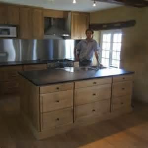 table de cuisine en bois massif table et chaises de