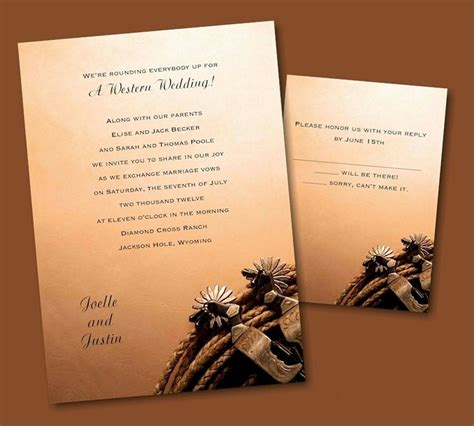 83 best western themes images on western theme bridal invitations and country weddings