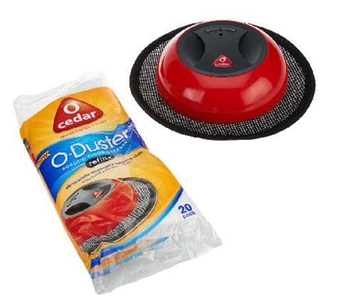 O Duster Robotic Floor Cleaner by O Cedar O Duster Robotic Floor Cleaner W Cleaning Pads